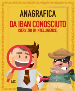 RINTRACCIO ANAGRAFICA DA IBAN CONOSCIUTO